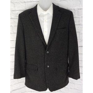 Joseph & Feiss Gold, Wool Cashmere Blazer, 42L